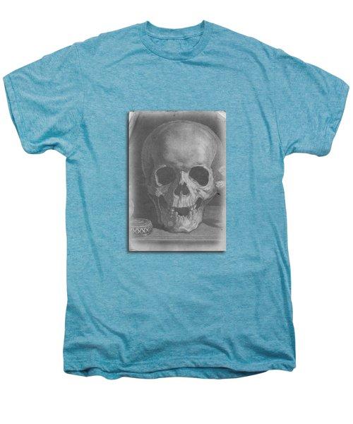 Ancient Skull Tee Men's Premium T-Shirt by Edward Fielding