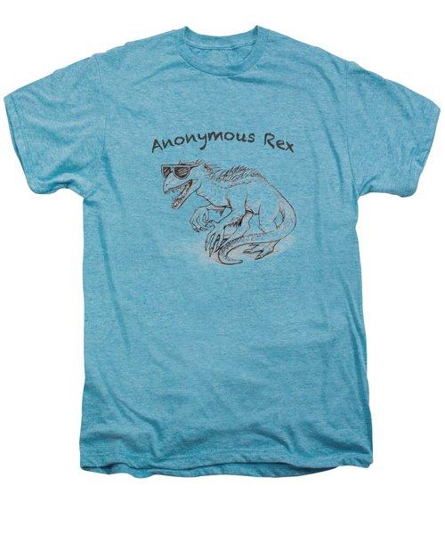Anonymous Rex T-shirt Men's Premium T-Shirt by Aaron Spong