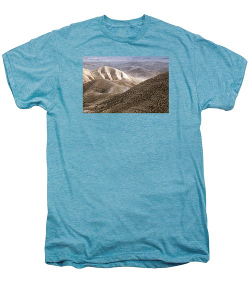 Another View From Masada Men's Premium T-Shirt by Dubi Roman