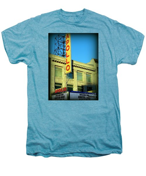 Apollo Vignette Men's Premium T-Shirt by Ed Weidman
