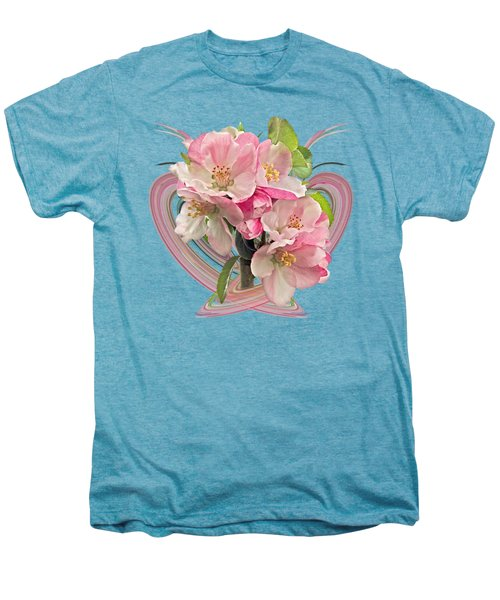 Apple Blossom Abstract Men's Premium T-Shirt