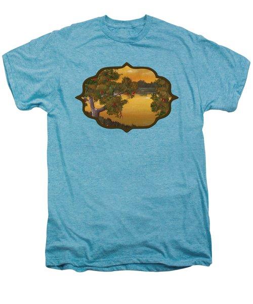 Apple Sunset Men's Premium T-Shirt