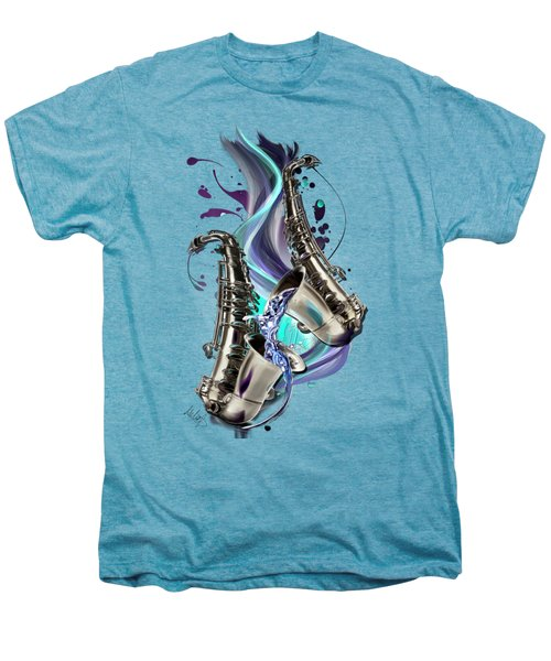 Aquarius Men's Premium T-Shirt by Melanie D