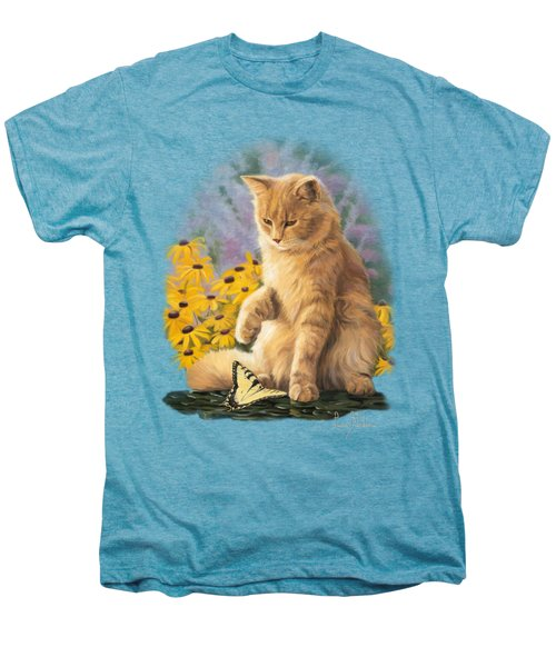 Archibald And Friend Men's Premium T-Shirt by Lucie Bilodeau