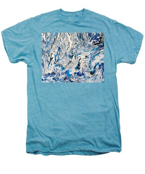Arctic Frenzy Men's Premium T-Shirt by Teresa Wing