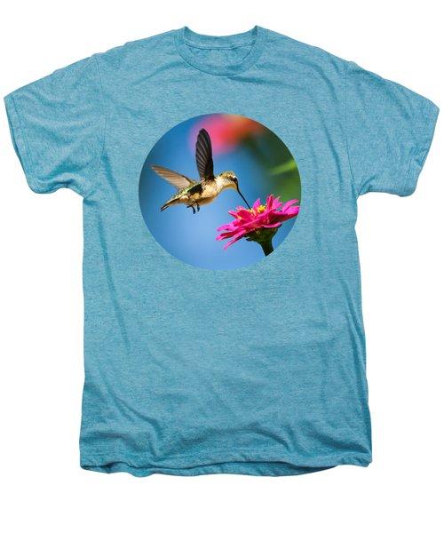 Art Of Hummingbird Flight Men's Premium T-Shirt by Christina Rollo