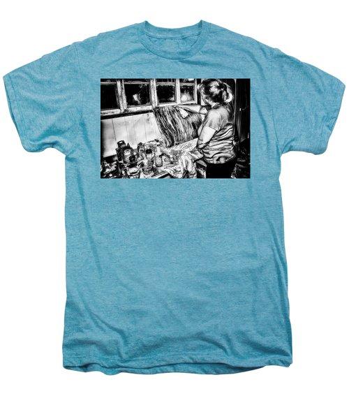 Artist At Work Men's Premium T-Shirt