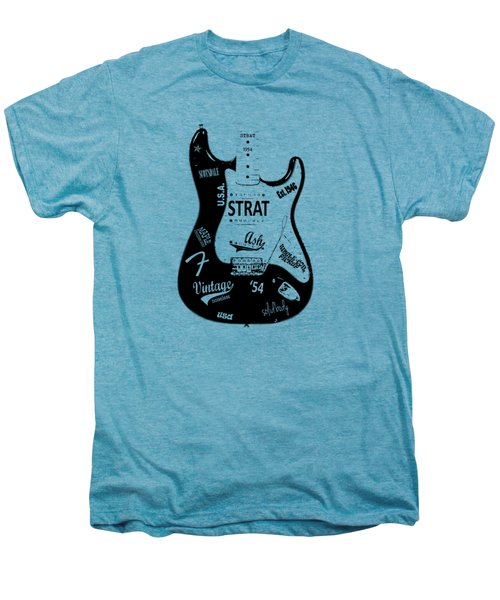 Fender Stratocaster 54 Men's Premium T-Shirt by Mark Rogan