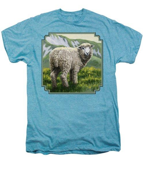 Highland Ewe Men's Premium T-Shirt by Crista Forest
