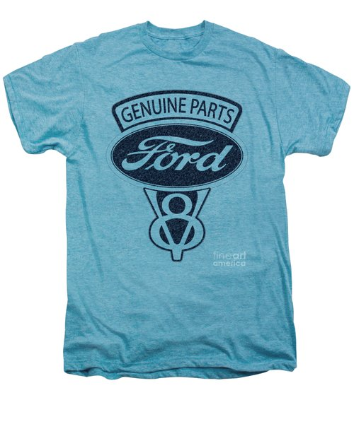 Ford V8 Men's Premium T-Shirt by Mark Rogan