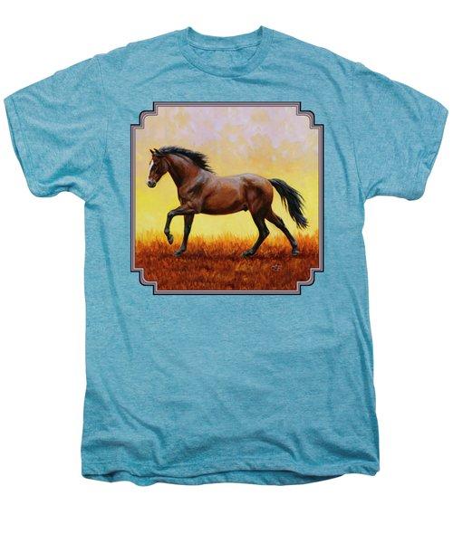Midnight Sun Men's Premium T-Shirt