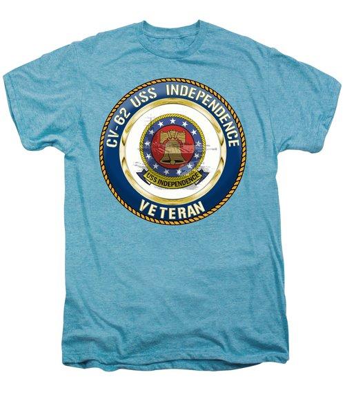 Cv-62 Uss Independence  Men's Premium T-Shirt