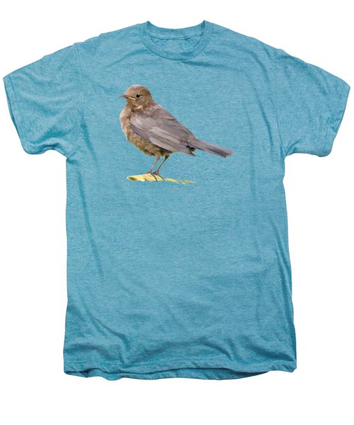 Young Blackbird  Men's Premium T-Shirt by Bamalam  Photography