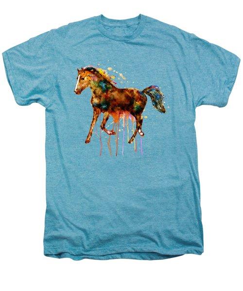 Watercolor Horse Men's Premium T-Shirt by Marian Voicu