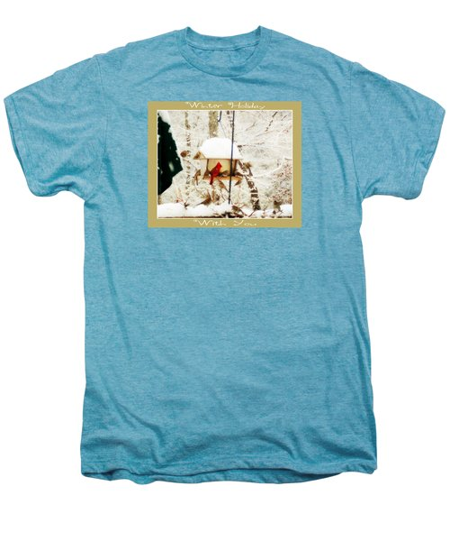Winter Holiday Men's Premium T-Shirt by Anita Faye
