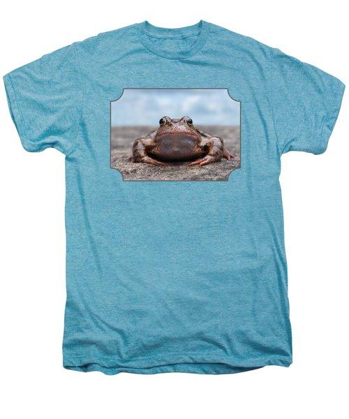 Leaving Home Men's Premium T-Shirt by Gill Billington