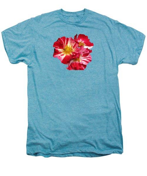 July 4th Rose Men's Premium T-Shirt by M E Cieplinski