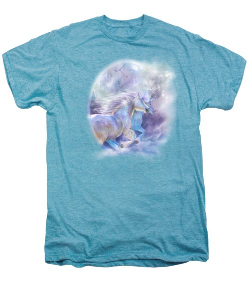 Unicorn Soulmates Men's Premium T-Shirt by Carol Cavalaris