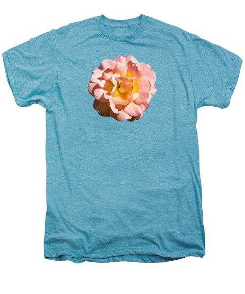 Peach Rose Men's Premium T-Shirt