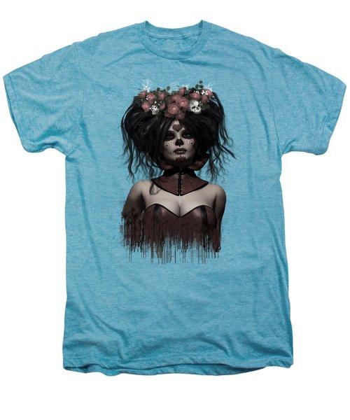 La Catrina Men's Premium T-Shirt by Shanina Conway