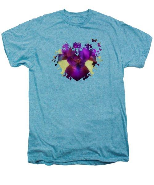 Deep Purple Men's Premium T-Shirt by Anita Faye