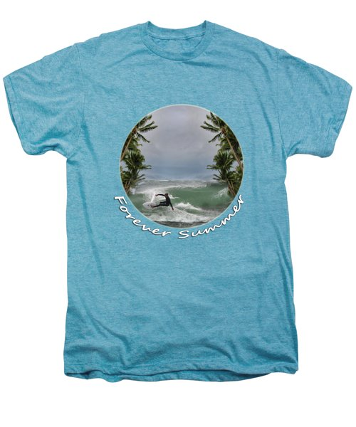 Men's Premium T-Shirt featuring the photograph Forever Summer 2 by Linda Lees