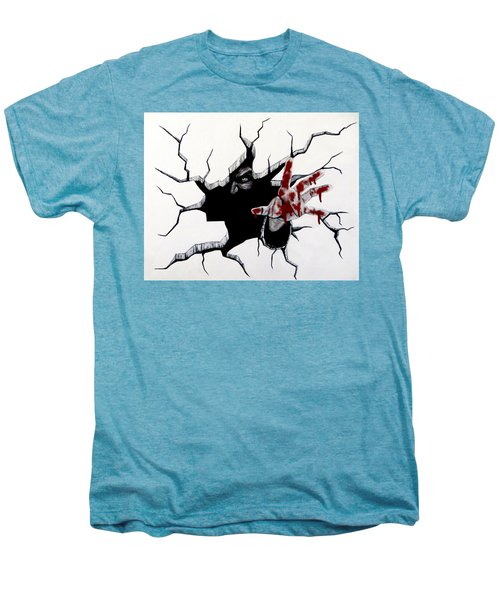 The Demon Inside Men's Premium T-Shirt by Teresa Wing