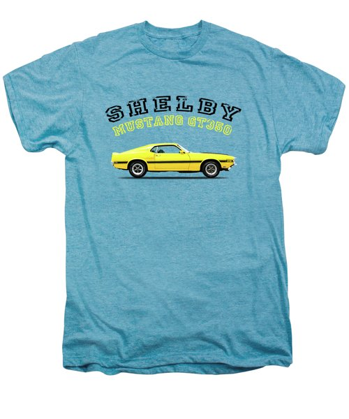 Shelby Mustang Gt350 1969 Men's Premium T-Shirt by Mark Rogan