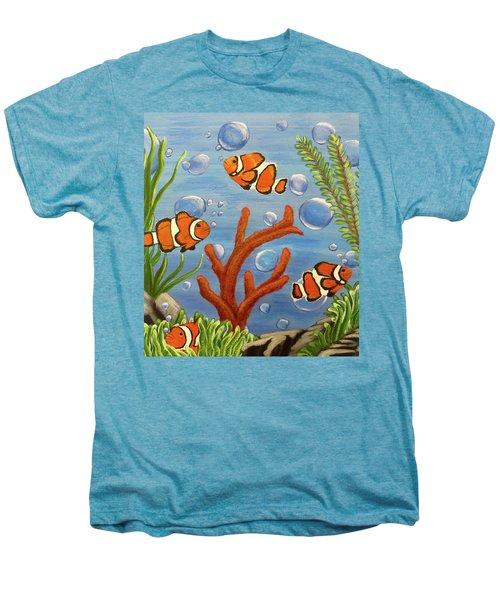Clowning Around Men's Premium T-Shirt by Teresa Wing