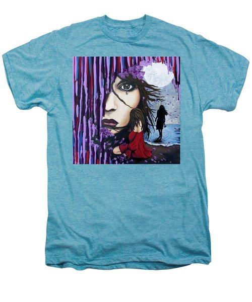Alone Men's Premium T-Shirt by Teresa Wing