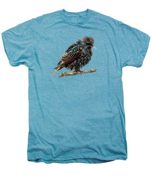 Wet Starling Men's Premium T-Shirt by Bamalam Photography