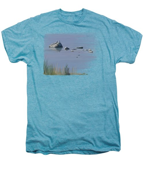 Gull Siesta Men's Premium T-Shirt by Ivana Westin