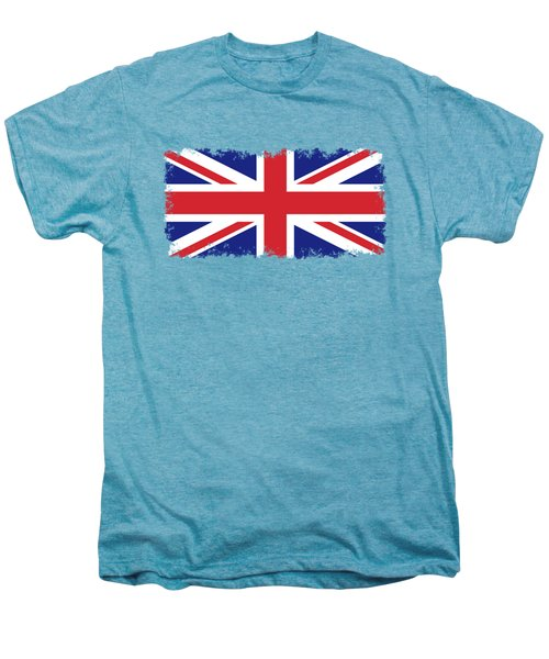 Union Jack Ensign Flag 1x2 Scale Men's Premium T-Shirt by Bruce Stanfield