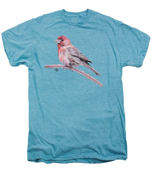 House Finch Men's Premium T-Shirt