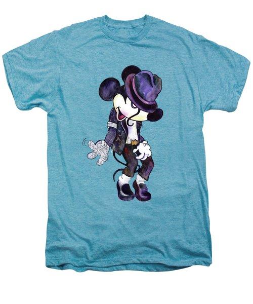 Mickey Mouse-michael Jackson Men's Premium T-Shirt