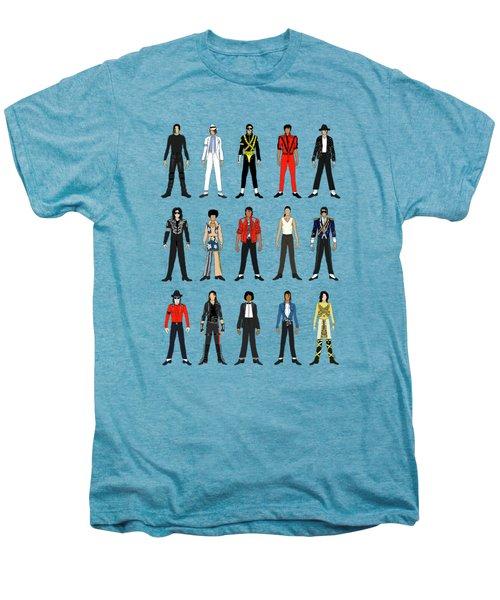 Outfits Of Michael Jackson Men's Premium T-Shirt by Notsniw Art