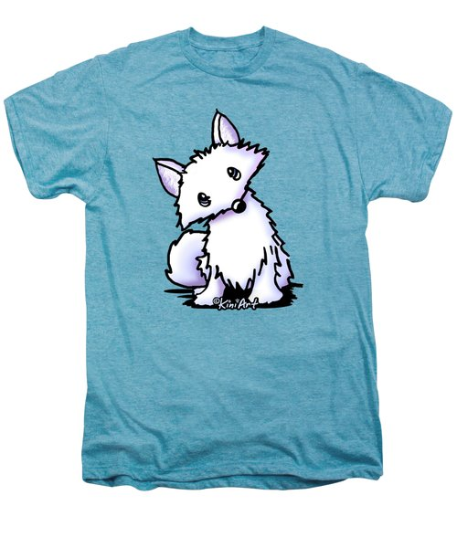 Arctic Fox Men's Premium T-Shirt by Kim Niles