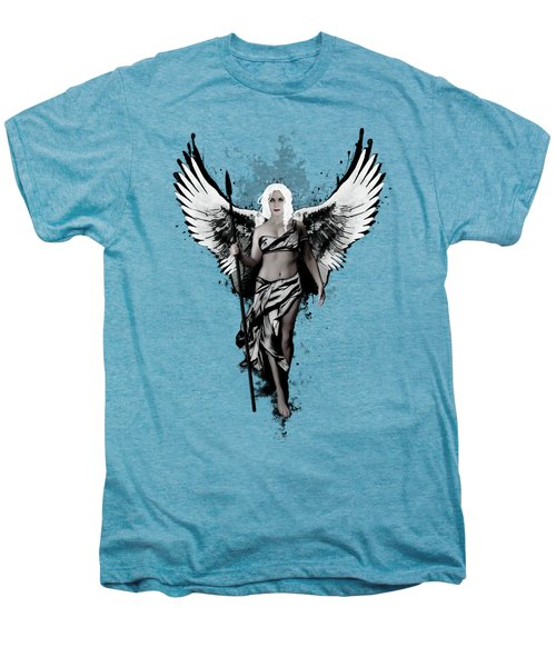 Valkyrja Men's Premium T-Shirt by Nicklas Gustafsson