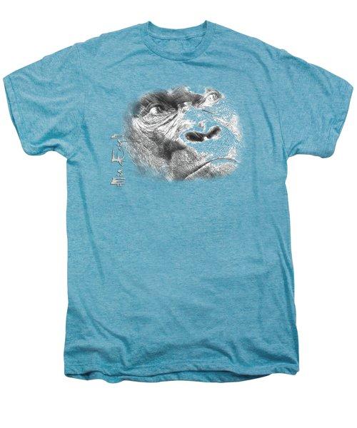 Big Gorilla Men's Premium T-Shirt by iMia dEsigN