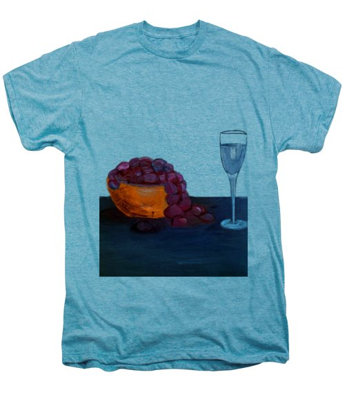 Grapes And Water Men's Premium T-Shirt