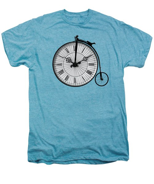 Time To Ride Penny Farthing Men's Premium T-Shirt