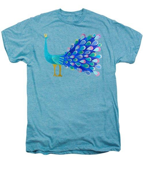 Pretty As A Peacock Men's Premium T-Shirt