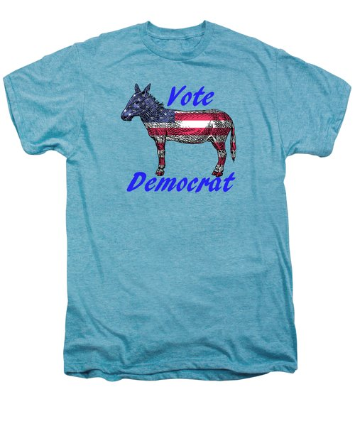 Vote Democrat Men's Premium T-Shirt