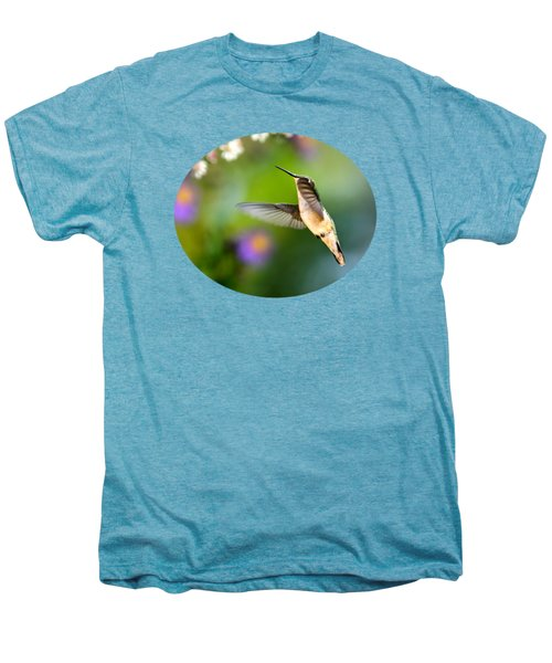Garden Hummingbird Men's Premium T-Shirt