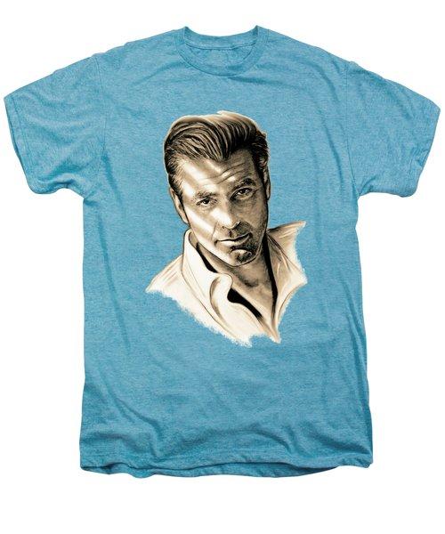 George Clooney Men's Premium T-Shirt