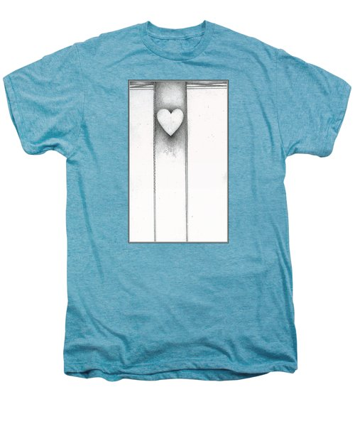 Ascending Heart Men's Premium T-Shirt by James Lanigan Thompson MFA