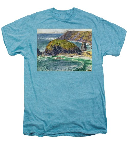 Asparagus Island Men's Premium T-Shirt by William Holman Hunt