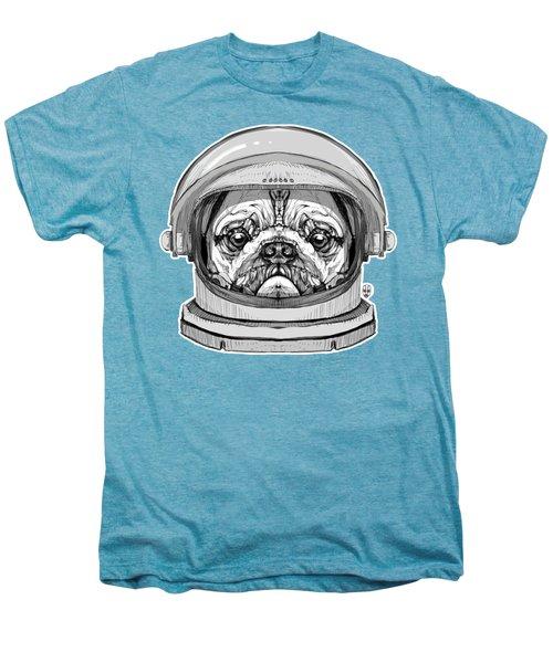 Astronault Pug Men's Premium T-Shirt