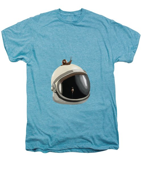 Astronaut's Helmet Men's Premium T-Shirt by Keshava Shukla