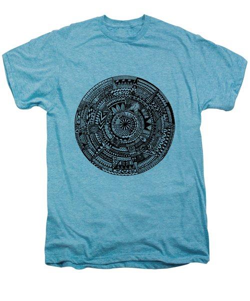 Asymmetry Men's Premium T-Shirt by Elizabeth Davis